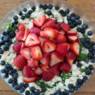 red white and blue summer salad recipe