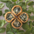 clover quiche for st patricks day
