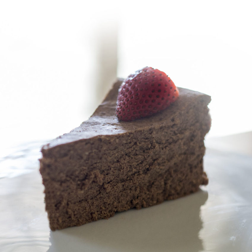 Chocolate Cheesecake – low carb and gluten free