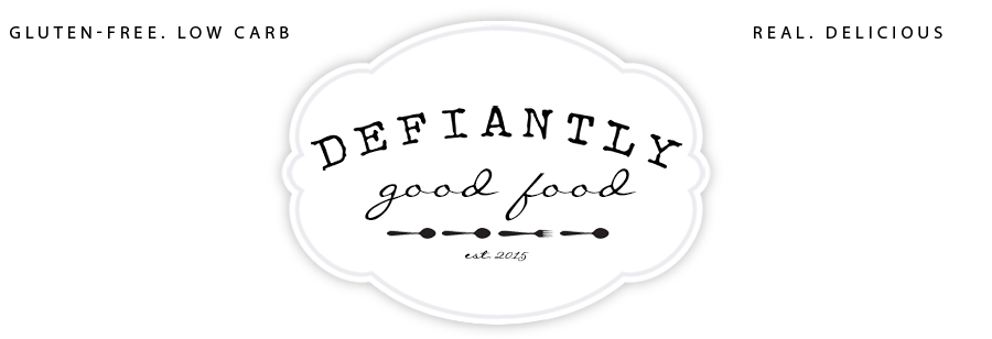 Defiantly Good Food logo